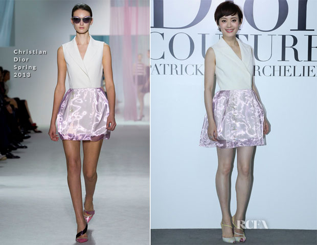 Sun Li In Christian Dior - Dior Photography Exhibition