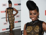 Teyonah Parris In J. Loren - 'Mad Men' Season 6 Premiere