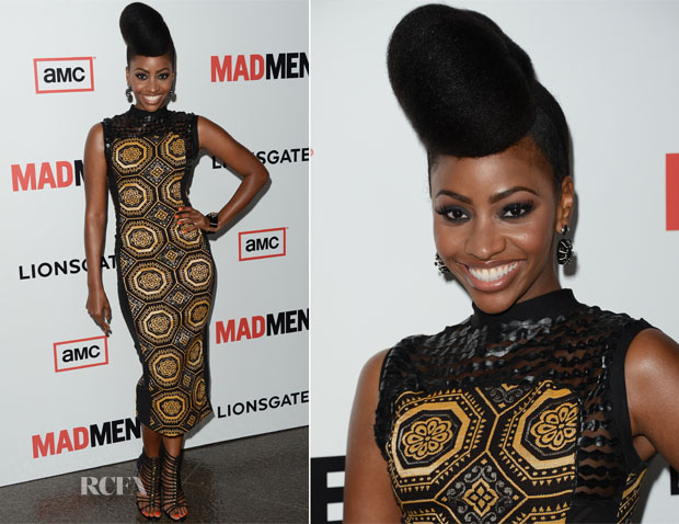Teyonah Parris In J Loren - 'Mad Men' Season 6 Premiere
