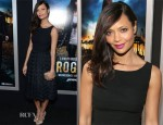 Thandie Newton In Vintage Gathering Goddess - 'Rogue' LA Premiere