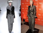 Tilda Swinton In Haider Ackermann - 'David Bowie Is' Exhibition Private Viewing