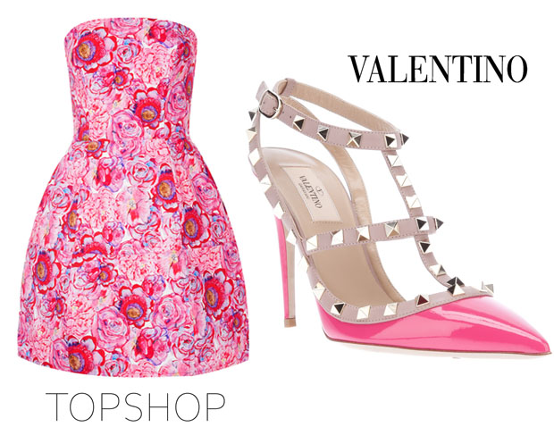 Topshop & valentino