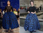 Ulyana Sergeenko In Chrisitian Dior Couture - Christian Dior Fall 2013 Presentation