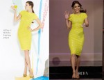 Vanessa Hudgens In Alice + Olivia - The Tonight Show with Jay Leno