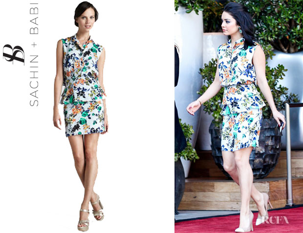 Vanessa Hudgens' Sachin + Babi 'Coronado' Sleeveless Dress