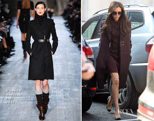 Victoria Beckham In Victoria Beckham - Out In London
