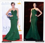 Who Wore Oscar de la Renta Better...Allison Williams or Pace Wu?
