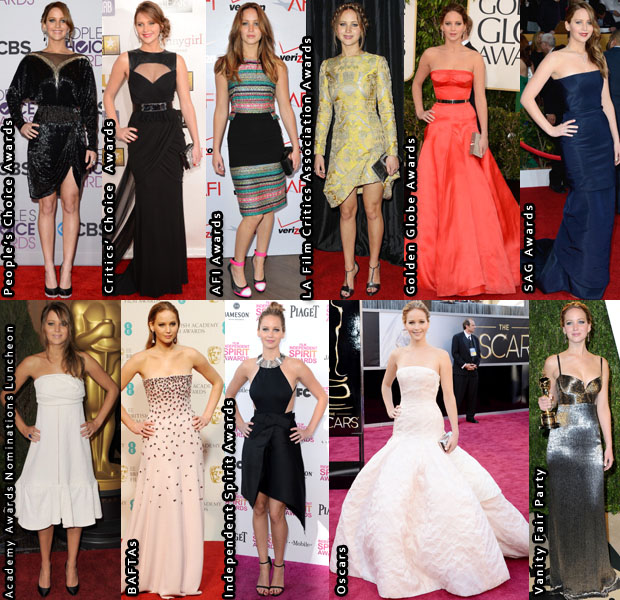 Which Was Your Favourite Jennifer Lawrence Awards Season 2013 Look