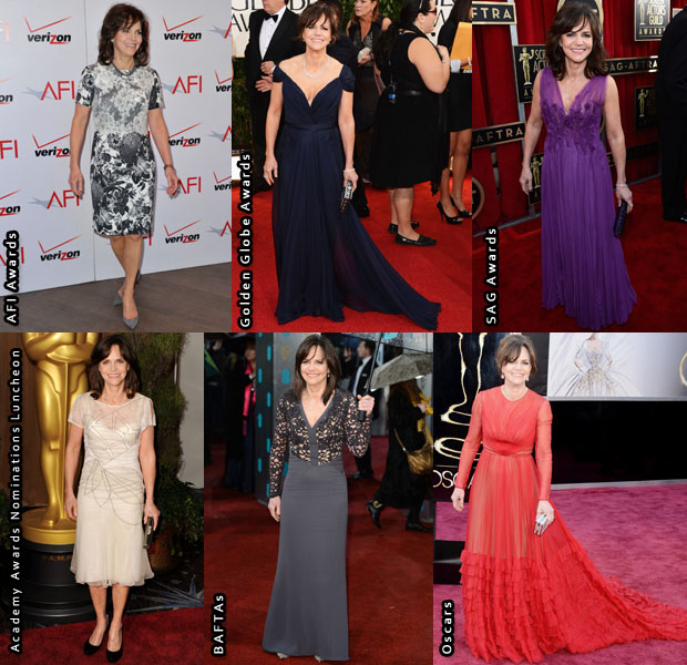 Which Was Your Favourite Sally Field 2013 Awards Season Look