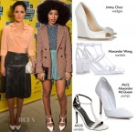 Shop The White Shoes Red Carpet Trend