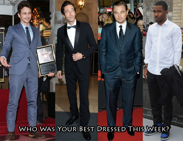 Who Was Your Best Dressed This Week Mens