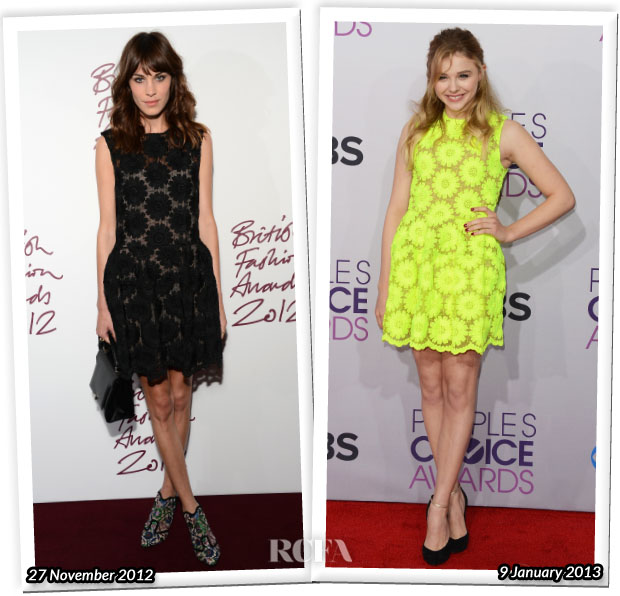Who Wore Simone Rocha Better Alexa Chung or Chloe Moretz