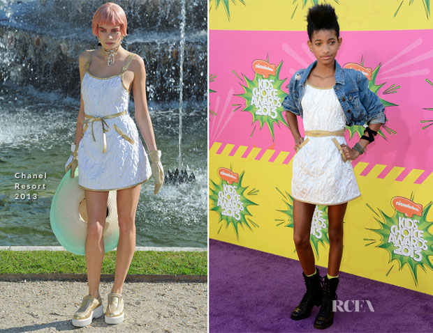 Willow Smith In Chanel - 2013 Nickelodeon Kids' Choice Awards