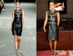 Zoe Kravitz In Alexander Wang - Zoe Kravitz For Swarovski Crystallized Launch Party