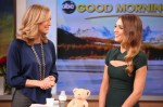 Jessica Alba In Narciso Rodriguez - Good Morning America