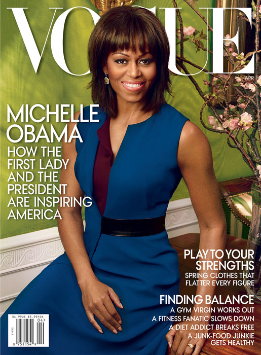 Michelle Obama Vogue April 2013