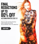 Get Up To 80% Off In theCorner's Autumn/Winter 2012  Sale