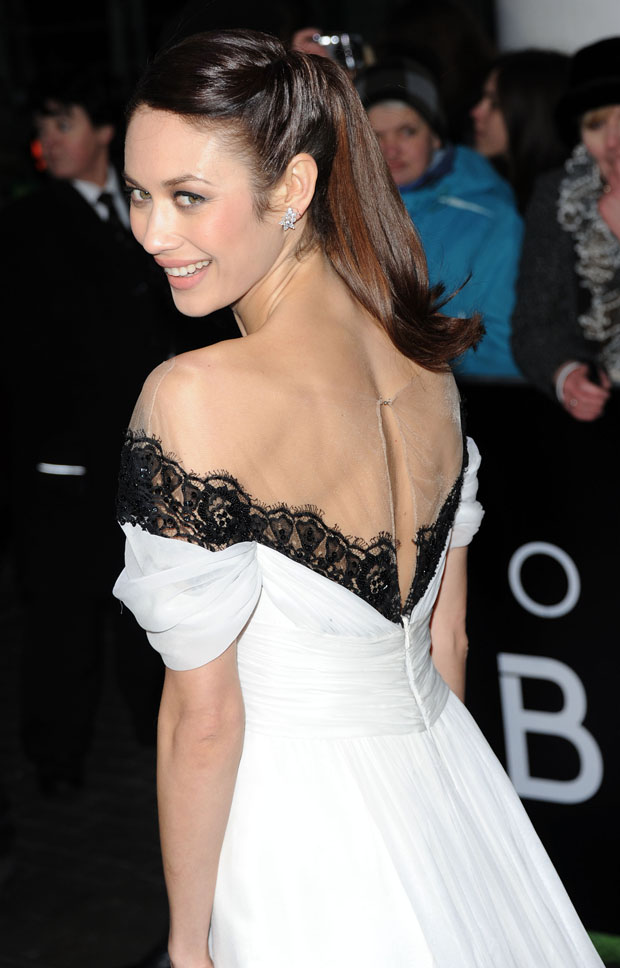 Olga Kurylenko in Marchesa