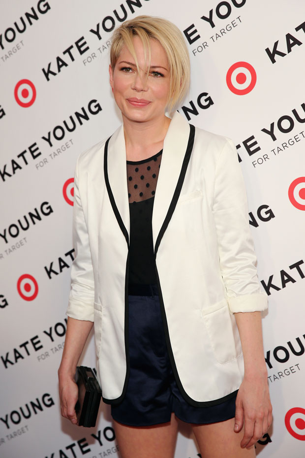 Michelle Williams in Kate Young for Target