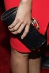 Fredia Pinto's Thale Blanc clutch