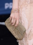 Andrea Riseborough's Oroton clutch