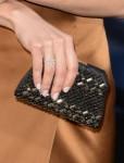 Olga Kurylenko's Valentino clutch