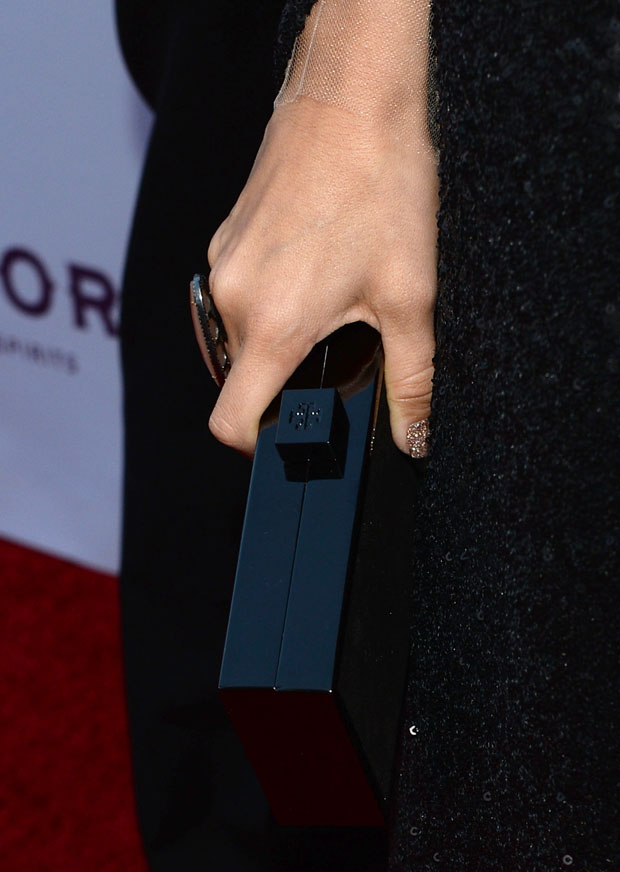Ashely Tisdale's Tory Burch clutch