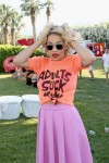 Rita Ora in Jeremy Scott and J.W. Anderson