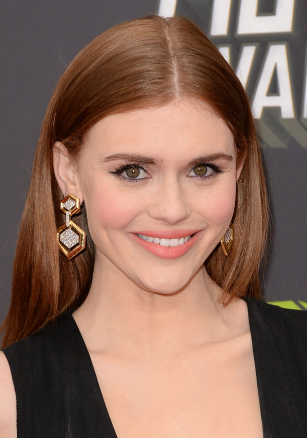Holland Roden in Dolce & Gabbana