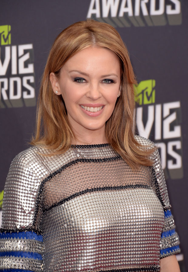Kylie Minogue in Paco Rabanne