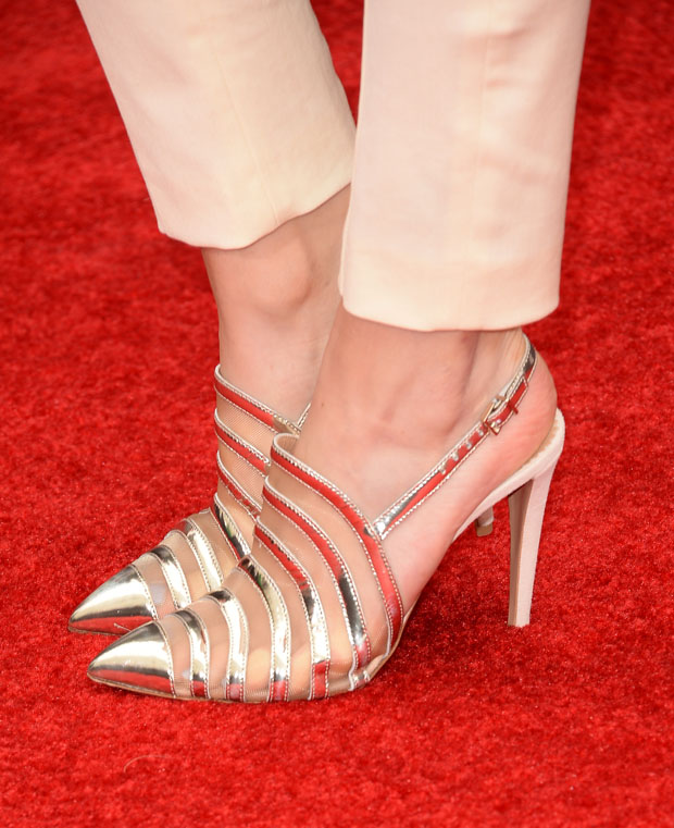 Bella Thorne's Emporio Armani shoes