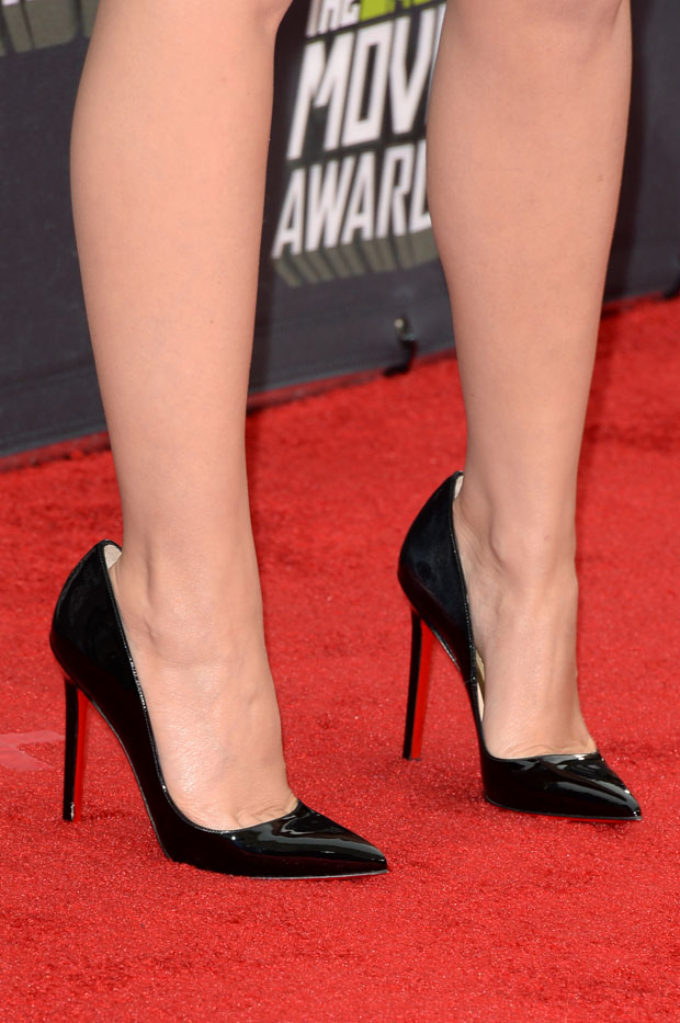 Kylie Minogue's Christian Louboutin pumps