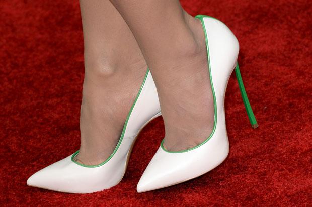 Jordana Brewster's Casadei 'Blade' pumps