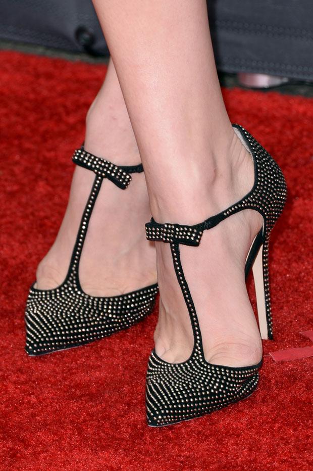 Chloe Moretz' Jimmy Choo heels
