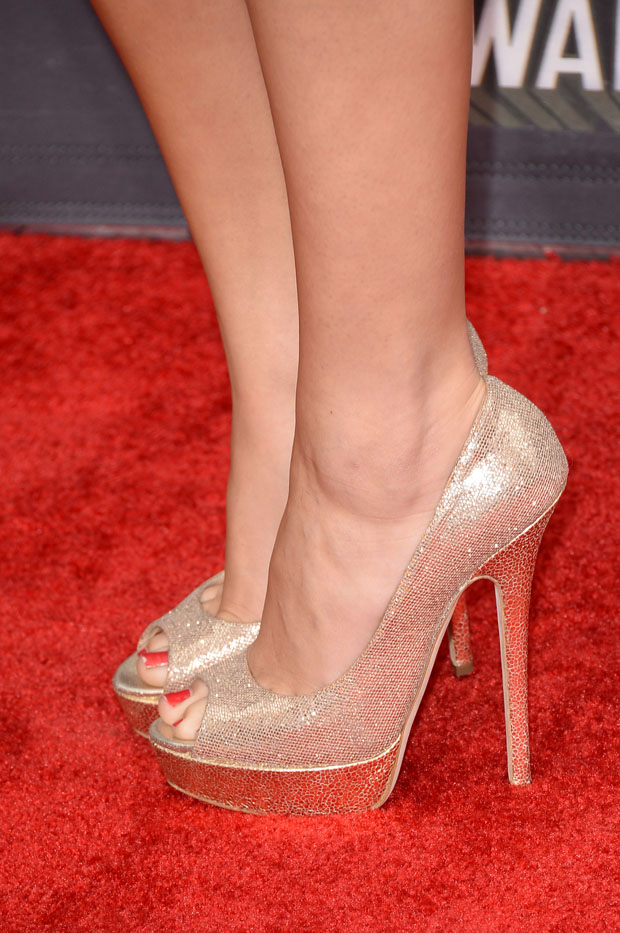 Selena Gomez' Jimmy Choo 'Vibe' shoes