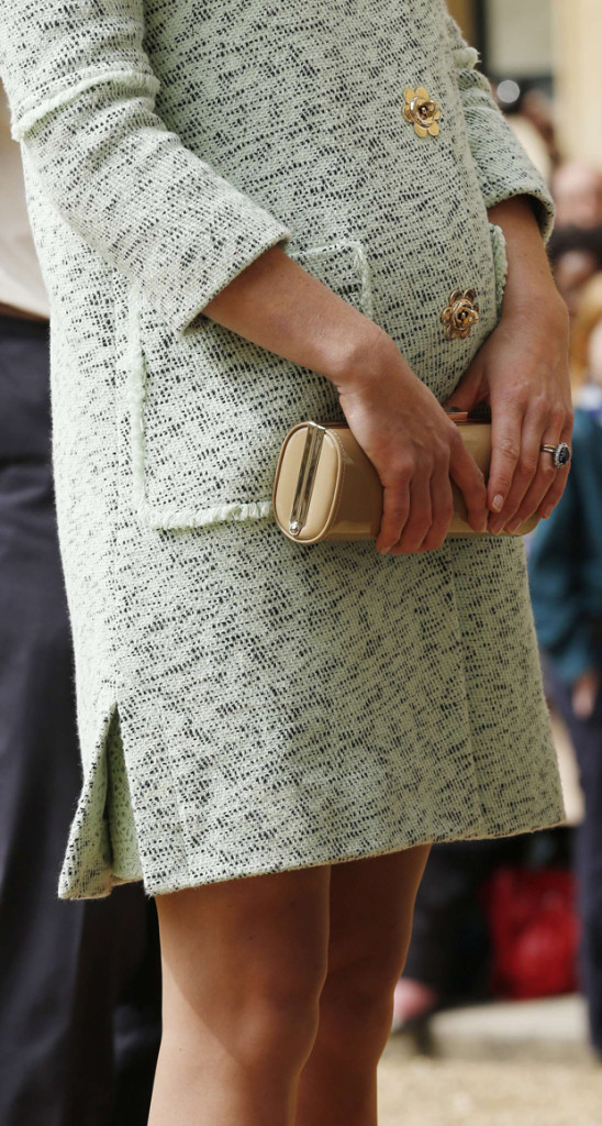 Catherine, Duchess of Cambridge's L.K. Bennett clutch