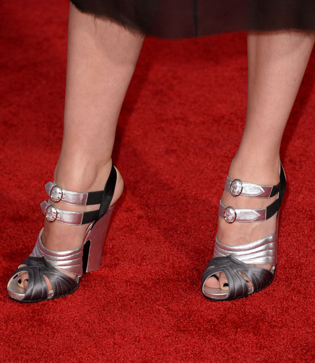 Rebecca Hall's Prada shoes