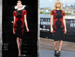 Alice Eve In Reem Acra - 'Star Trek Into Darkness' Berlin Photocall