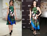 Andrea Riseborough In Proenza Schouler - 'Disconnect' New York Special Screening