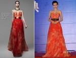 Angelababy In Alexander McQueen - 2013 Huading Awards Ceremony