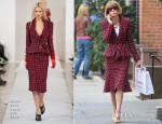 Anna Wintour In Oscar de la Renta - Chanel Shopping In New York City
