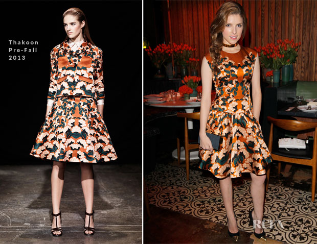 Anne Kendrick In Thakoon - Vogue 'Triple Threats' Dinner