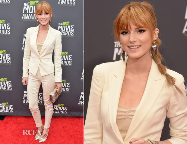 Bella Thorne In Emporio Armani - 2013 MTV Movie Awards