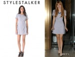 Bella Thorne's Style Stalker Perforated Dress