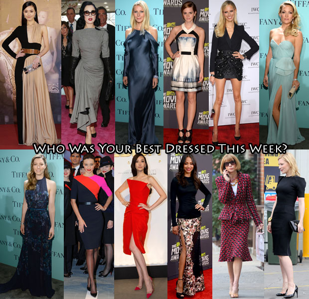 Best Dressed Of The Week 19 April 2013