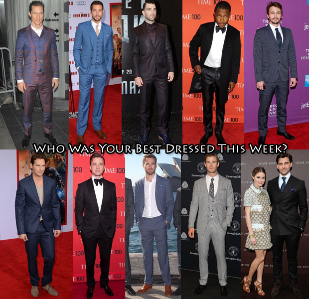Best Dressed Of The Week 26 April 2013 Men 2