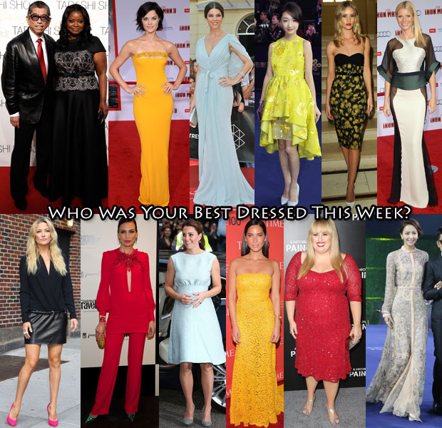Best Dressed Of The Week 26 April 2013