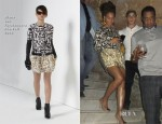 Beyonce Knowles In Diane von Furstenberg - La Guarida