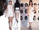 Blanca Suarez In Victoria Beckham - 'Los Amantes Pasajeros' Rome Photocall