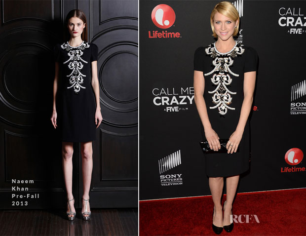 Brittany Snow In Naeem Khan - 'Call Me Crazy A Five Film' Premiere